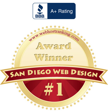 bbb san diego website design